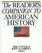 The Reader's encyclopedia to American history
