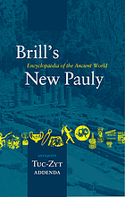 Brill's New Pauly : encyclopaedia of the ancient world : Antiquity