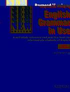 Essential grammar in use : a self-study reference and practice book for elementary students of english with answers