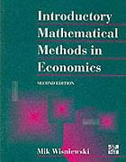 Introductory mathematical methods in economics