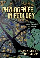 Phylogenies in Ecology.