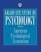 Graduate study in psychology 2019