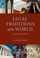 Legal traditions of the world : sustainable diversity in law