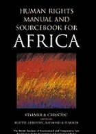 Human rights manual and sourcebook for Africa