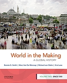 World in the making : a global history