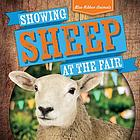 Showing sheep at the fair