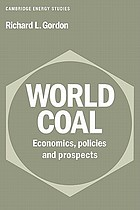 World coal : economics, policies and prospects