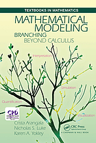 Mathematical modeling : branching beyond calculus