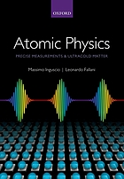 Atomic physics : precise measurements and ultracold matter