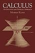 Calculus : an intuitive and physical approach by Morris Kline