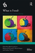 What is food? : researching a topic with many meanings