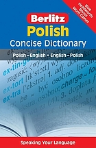 Polish concise dictionary : Polish-English, English-Polish.
