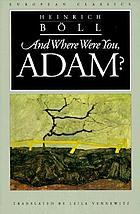 And where were you, Adam?