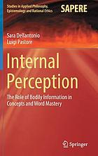 Internal perception : the role of bodily information in concepts and word mastery