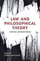 Law and philosophical theory : critical intersections