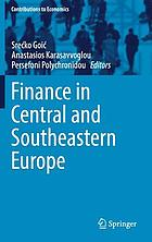 Finance in Central and Southeastern Europe