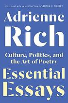 Essential essays culture, politics, and the art of poetry