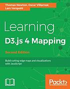 Learning D3.js 4 Mapping - Second Edition.