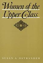 Women of the upper class