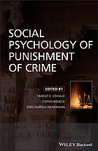 Social psychology of decisions on crime