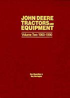 John Deere tractors and equipment.
