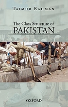 The class structure of Pakistan