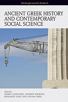 Ancient Greek history and contemporary social science