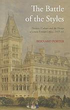 Battle of the styles : society, culture and the design of the new Foreign Office, 1855-1861