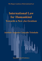 International law for humankind : towards a new jus gentium