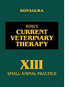 Current veterinary therapy XIII : small animal practice