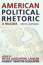 American political rhetoric a reader