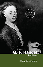 G.F. Handel : a guide to research