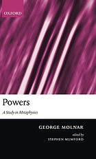Powers : a study in metaphysics