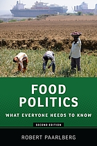 Food politics : what everyone needs to know