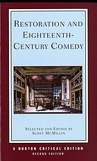 Restoration and eighteenth-century comedy