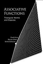 Associative functions : triangular norms and copulas