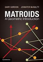 Matroids : a geometric introduction