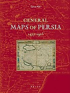 General maps of Persia 1477-1925