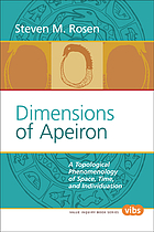 Dimensions of apeiron : a topological phenomenology of space, time, and individuation