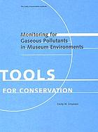 Monitoring for gaseous pollutants in museum environments