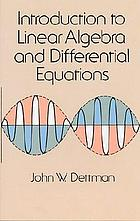 Introduction to Linear Algebra and Differential Equations.