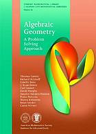 Algebraic geometry : a problem solving approach