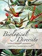 Biological diversity frontiers in measurement and assessment