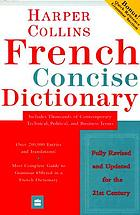 French dictionary plus grammar.