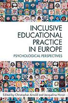 Inclusive educational practice in Europe : psychological perspectives