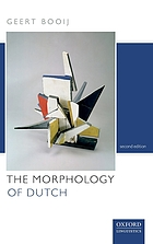 The Morphology of Dutch