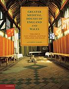 Greater medieval houses of England and Wales 1300-1500. 2