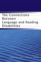 The connections between language and reading disabilities