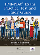 PMI-PBA exam practice test and study guide