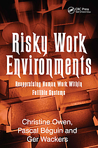 Risky work environments : reappraising human work within fallible systems